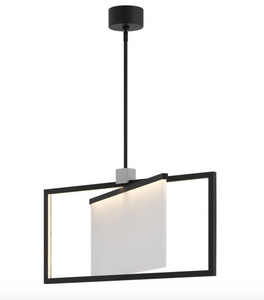 Folio LED Single Tier Chandelier 32504