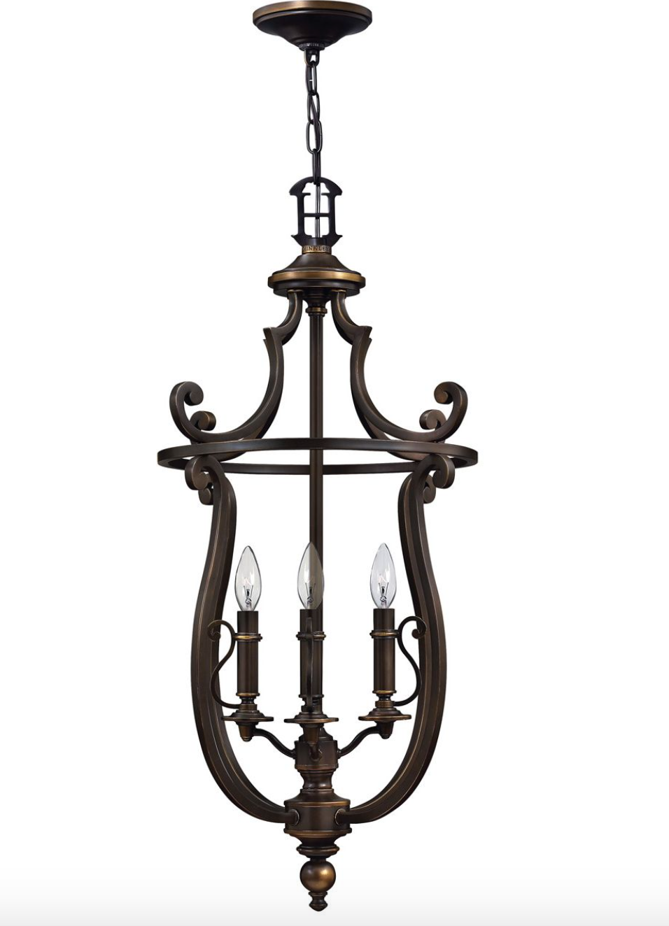 Plymouth Open Frame Chandelier 4254, 4258, 4259