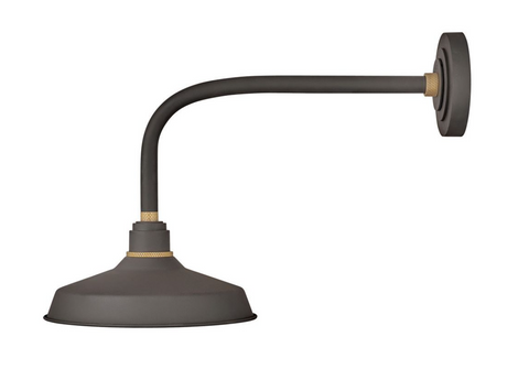 Outdoor Foundry Classic Straight Arm Barn Light 10312