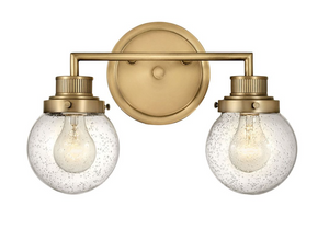Poppy Bath Two Light Wall Sconce 5932