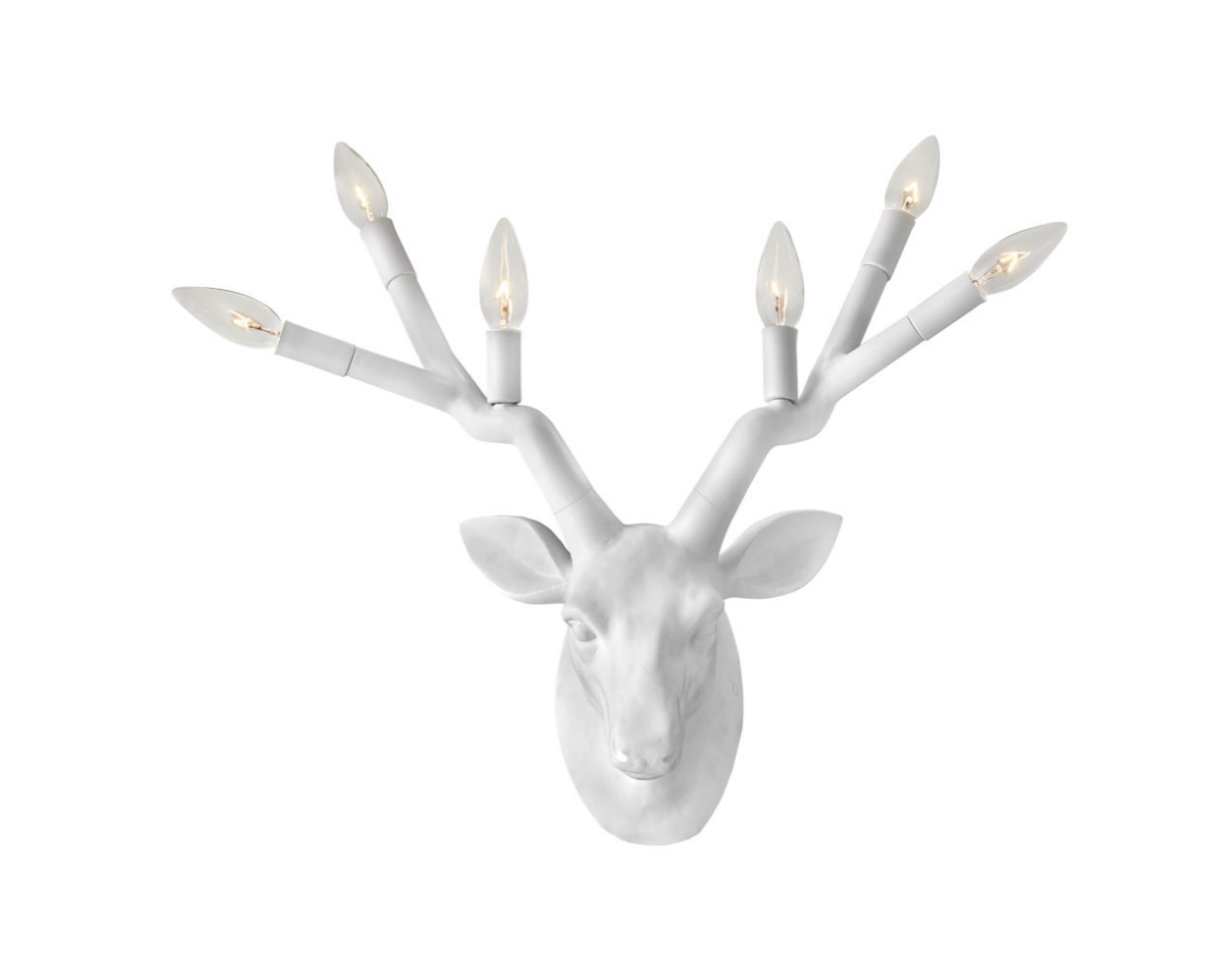 Stag Six Light Wall Sconce 30602