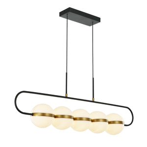 Tagliato Five Light Linear Pendant LP302005