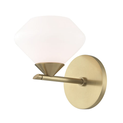 Valerie Bath Single Wall Sconce H136301