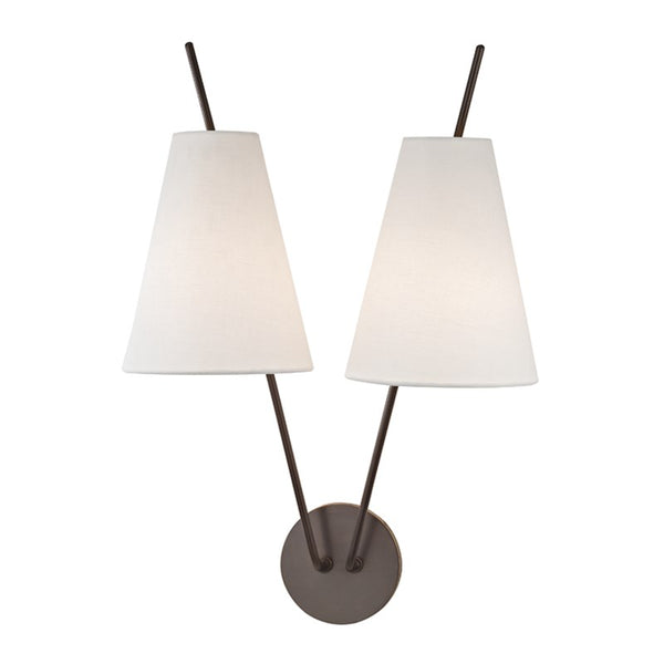 Milan Two Light Wall Sconce 6322