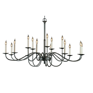 Simple Lines Large-Scale Chandelier w/ Candles 192044