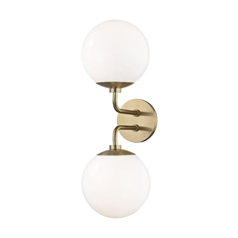 Stella Two Light Wall Sconce H105102
