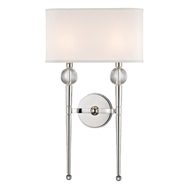 Rockland Two Light Wall Sconce 8422
