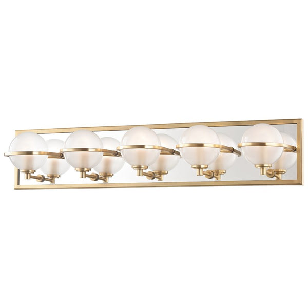 Axiom Five Light Bath Wall Sconce 6445