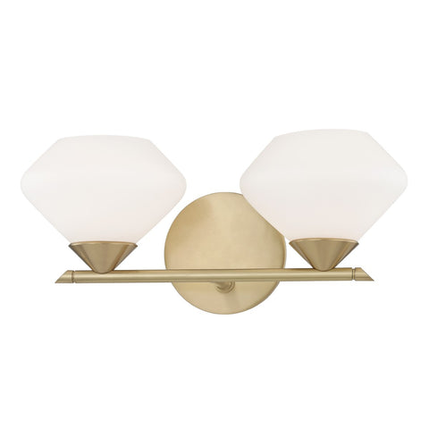 Valerie Bath Two Light Wall Sconce H136302