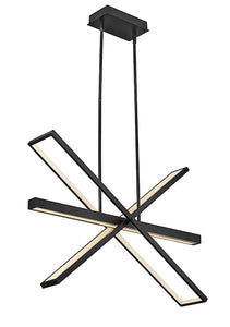 Tangent LED Linear Chandelier FR34806