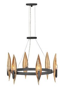 Willow Single Tier Chandelier FR44006