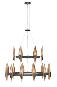 Willow Multi Tier Chandelier FR44009