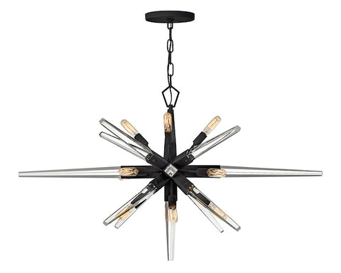 Ariel Twelve Light Linear Chandelier FR47409