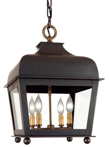"LM8-S Small 14.25""W Hanging Outdoor Lantern"