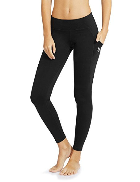Baleaf Women's Yoga Workout Leggings Side Pocket for 6