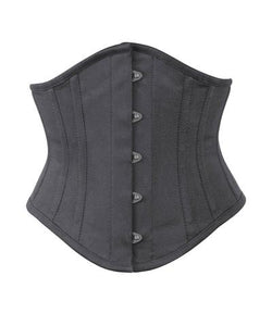 Underbust Waist Shaper Corset in 100% Cotton 4 Colors Available