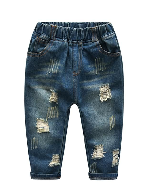 Tahje Ripped Denim