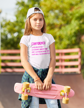 Load image into Gallery viewer, Girls Confidence Definition Tee