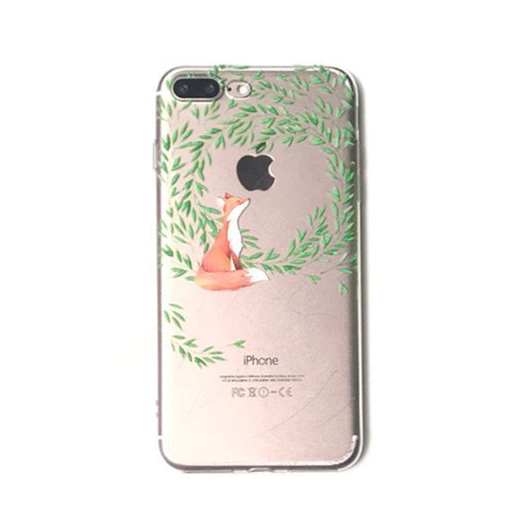 Garden Fox iPhone Case