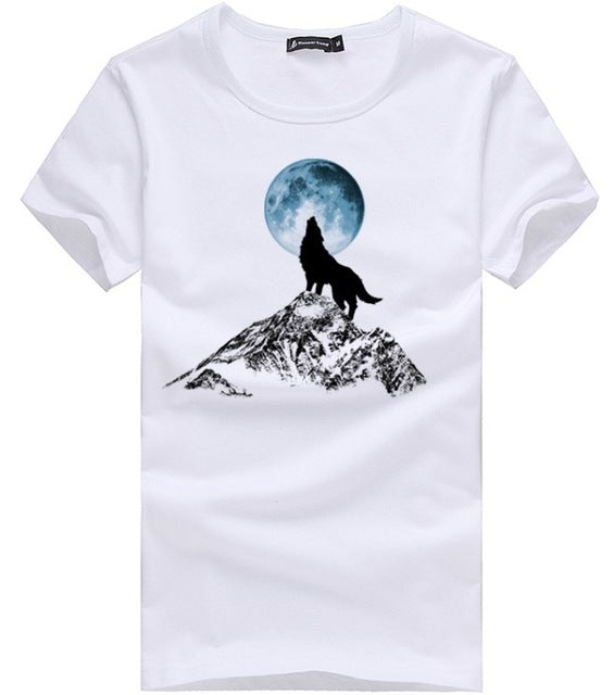 Howling At The Moon T-Shirt (White)