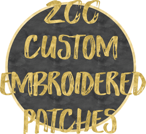 200 Custom Patches