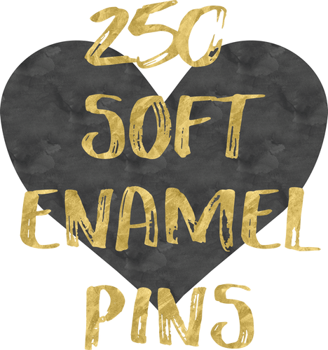 250 Soft Enamel Pins