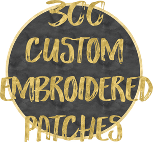 300 Custom Patches
