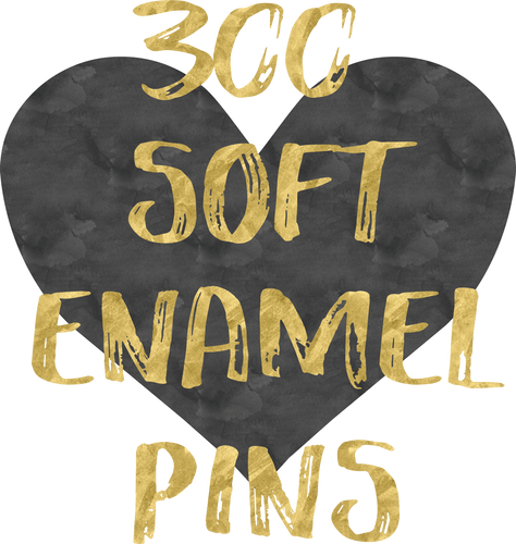 300 Soft Enamel Pins