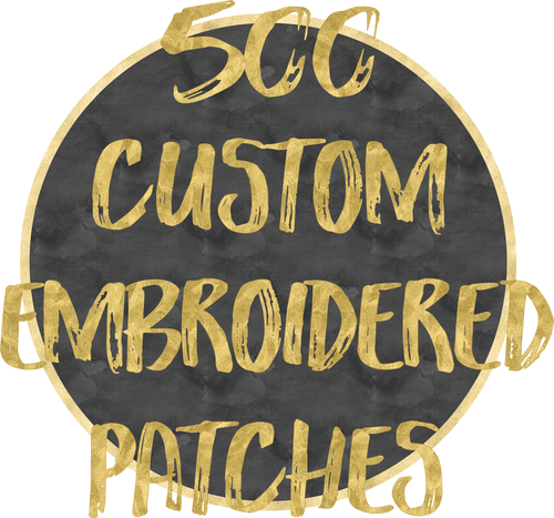 500 Custom Patches