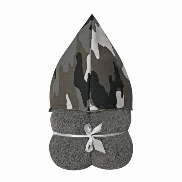 Camo Hooded Towel