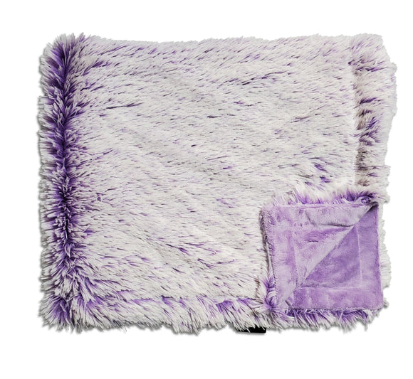 NEW! Shaggy Violet Minky Blanket
