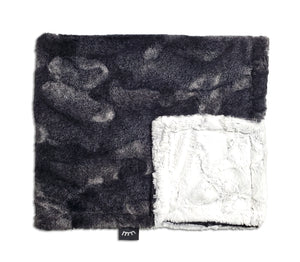 NEW! Frosted Midnight Minky Blanket