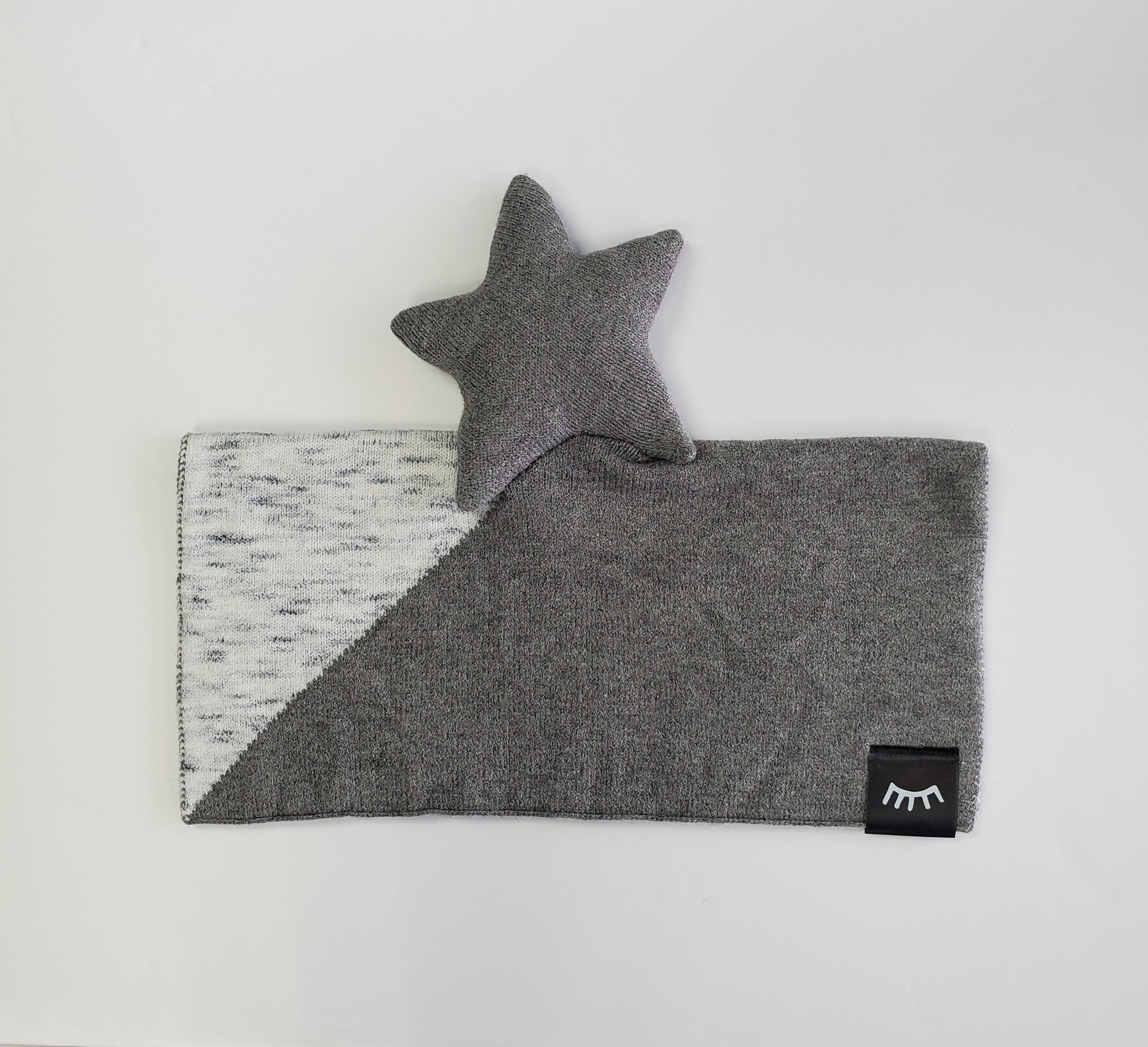 NEW! Star Melange Knit Lovey