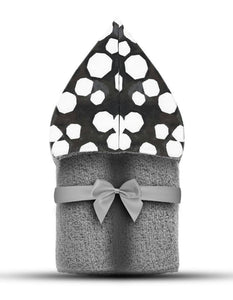 Mod Dot Hooded Towel