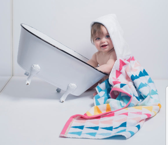 NEW! TRIANGLE Hooded Towel