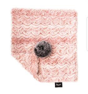 Blush Mini Minky Lovey