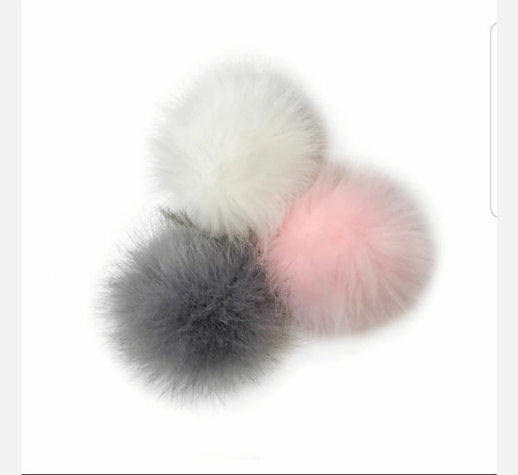 Pompom add on hooded towels