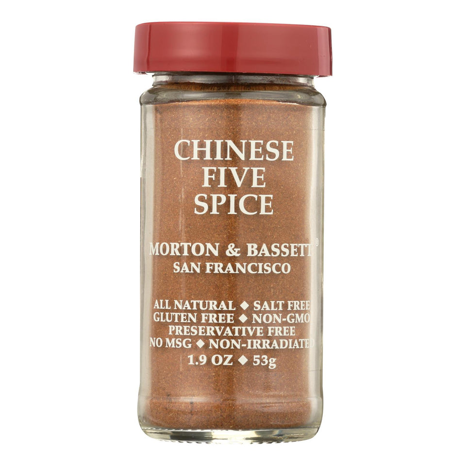 Morton And Bassett Seasoning - Chinese Five Spice - 2.3 Oz - Case Of 3