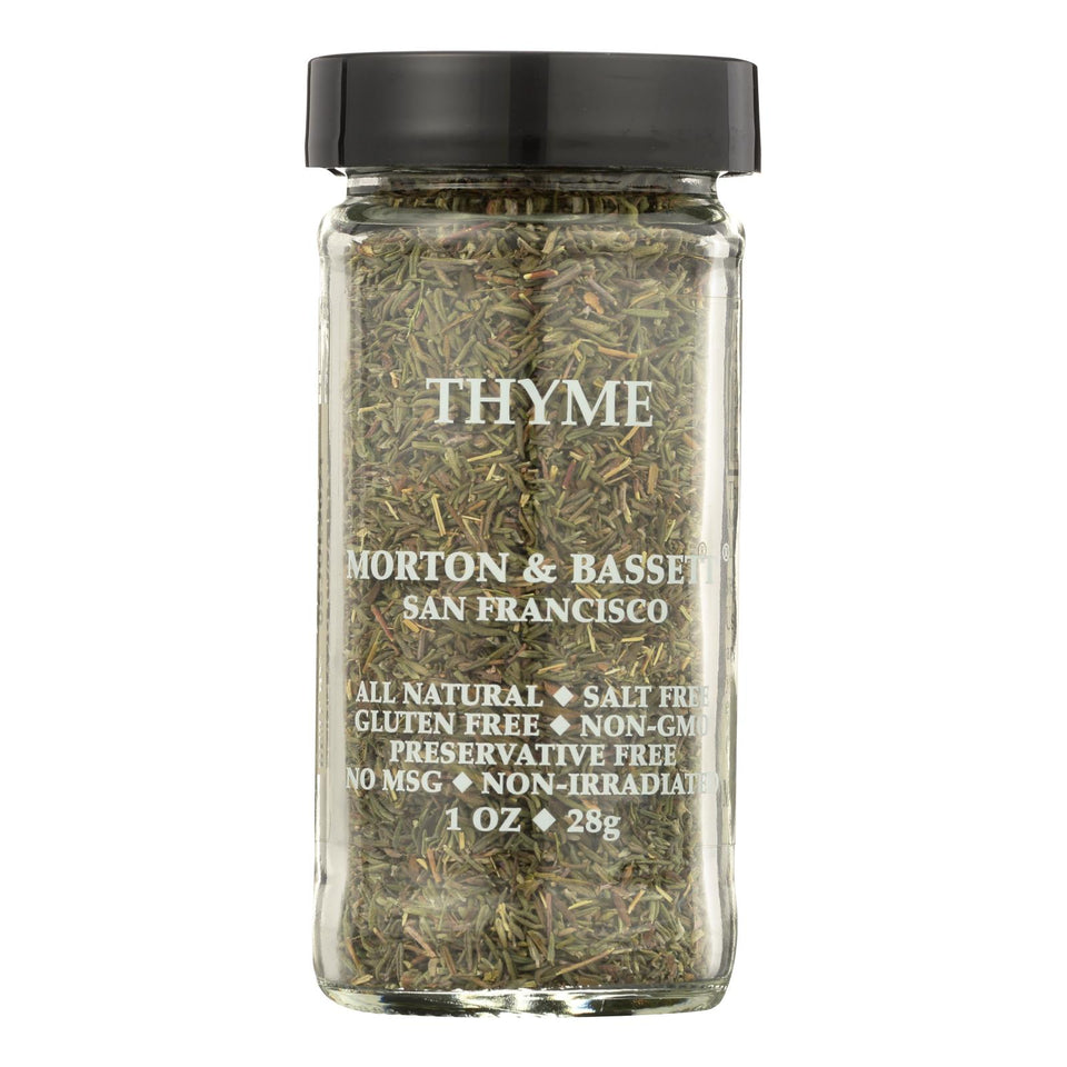 Morton And Bassett Thyme - .8 Oz - Case Of 3