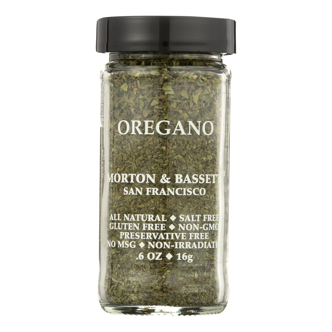 Morton And Bassett Oregano - .6 Oz - Case Of 3