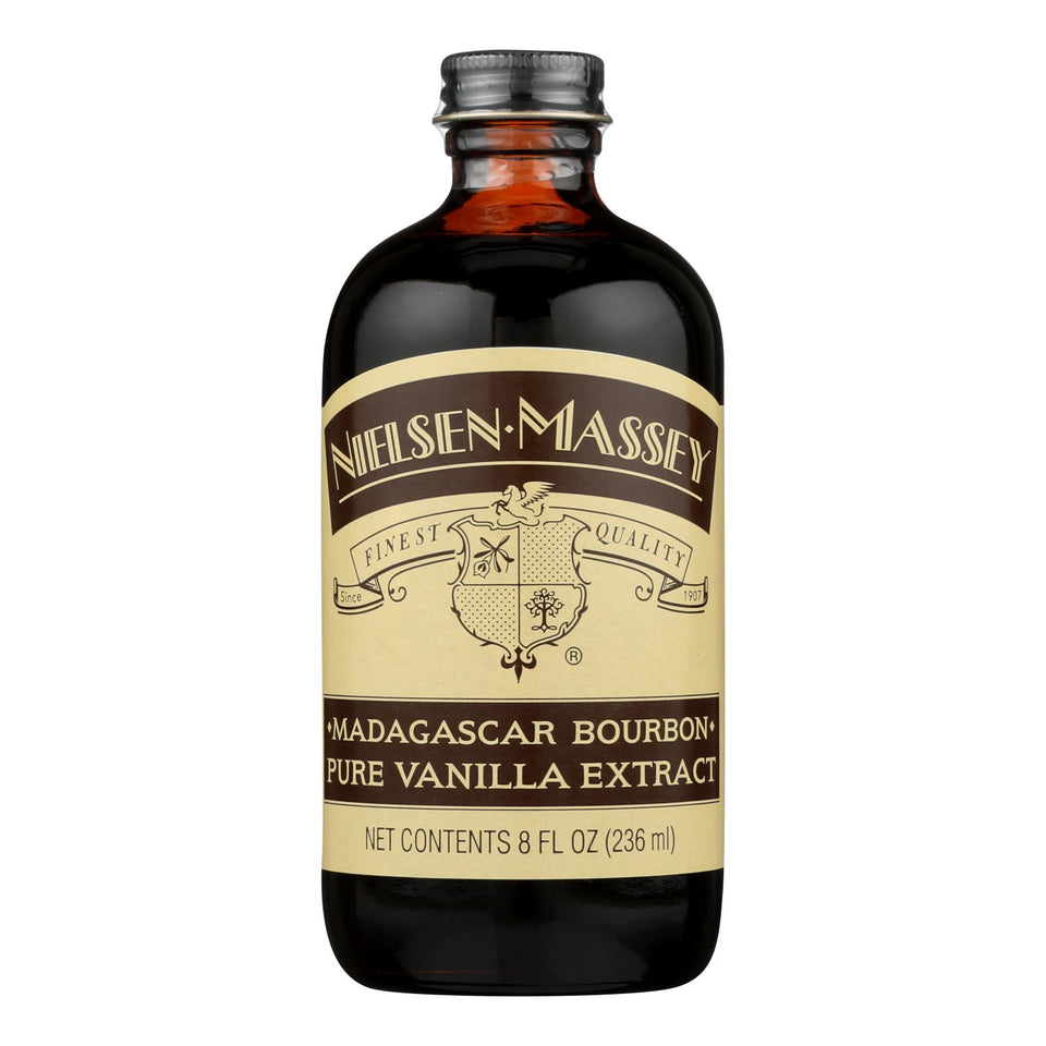 Nielsen-massey Pure Vanilla Extract - Madagascar Bourbon - 8 Oz (pack Of 3)