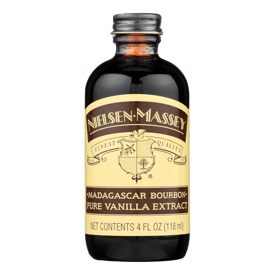 Nielsen-massey Pure Vanilla Extract - Madagascar Bourbon - 4 Oz (pack Of 3)