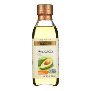 Spectrum Naturals Avocado Oil - Expeller Pressed - Refined - 8 Oz (pack Of 3)