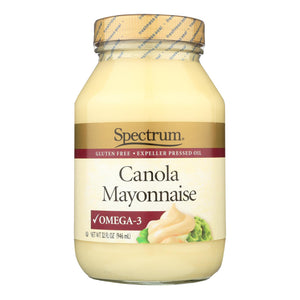 Spectrum Naturals Mayonnaise - Canola - 32 Oz - 1 Each (pack Of 3)