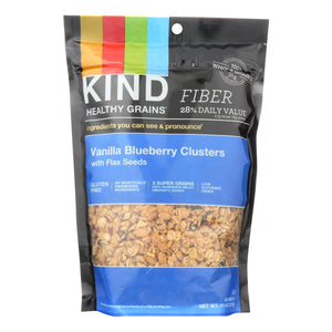 Kind Healthy Grains Vanilla Blueberry Clusters With Flax Seeds - 11 Oz - Case Of 6