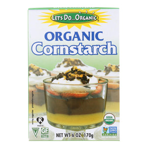 Let's Do Organics Cornstarch - Organic - 6 Oz - Case Of 6