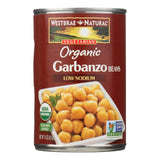 Westbrae Foods Organic Garbanzo Beans - Case Of 12 - 15 Oz.