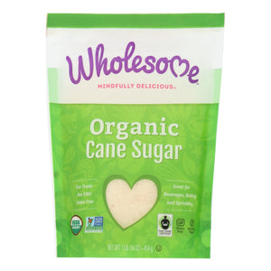 Wholesome Sweeteners Sugar - Organic - Milled - Unrefined - Case Of 12 Lbs
