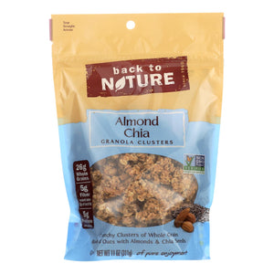 Back To Nature Granola Clusters - Almond Chia - Case Of 6 - 11 Oz.