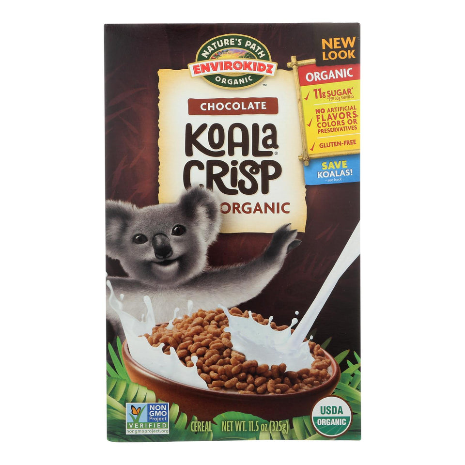 Envirokidz - Organic Cereal - Koala Crisp - Case Of 12 - 11.5 Oz.